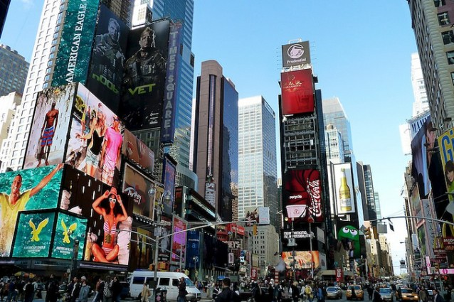 New york tutte le trappole per turisti for Time square londra