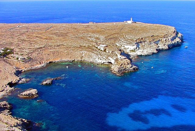Lampedusa, Mare Morto