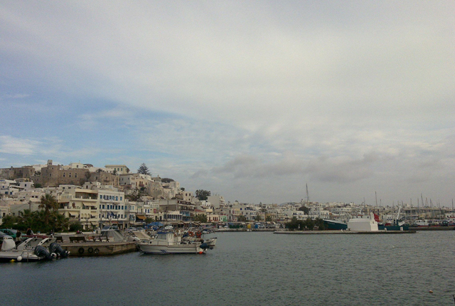 naxos porto