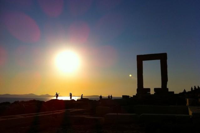 naxos tramonto