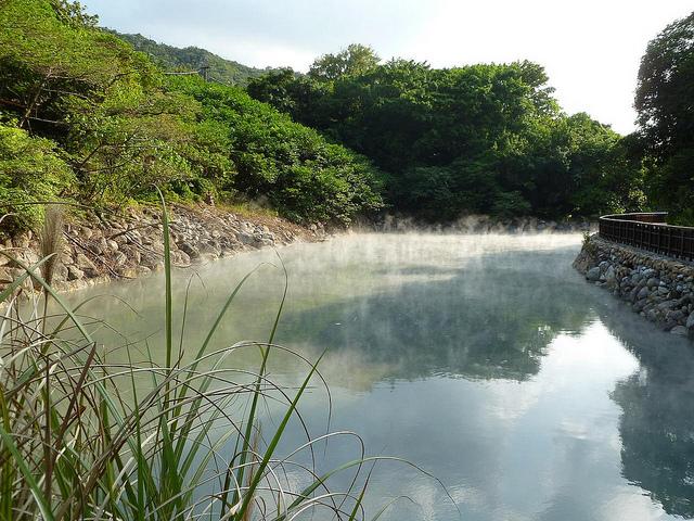 Taiwan, fonti termali
