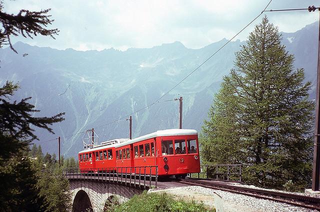 Francia, Chemin de fer du Montenvers