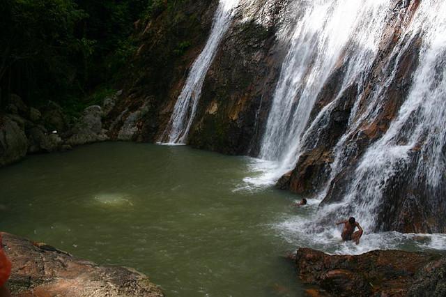 Ko Samui, cascate di Na Muang