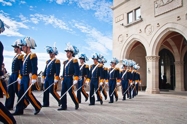 Guadia del Consiglio di San Marino