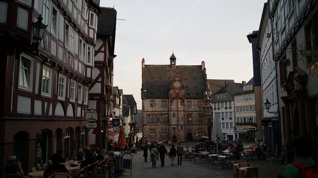 Marburgo, centro storico