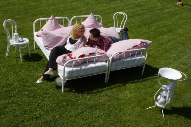 Pension Kamerichs, il letto