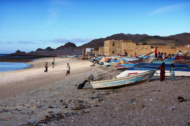 Il villaggio di Qalansyiah, secondo centro dell'isola