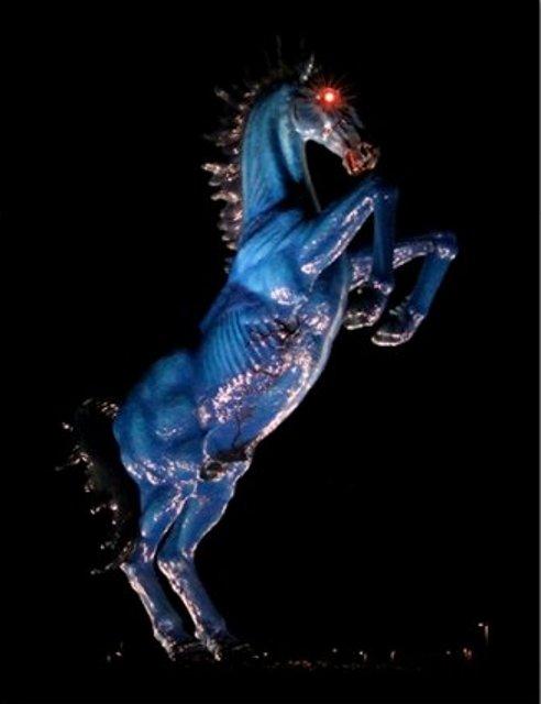Aeroporto Denver Cavallo : Le statue più inquietanti del mondo foto