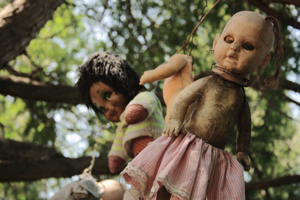 Isola delle bambole in Messico