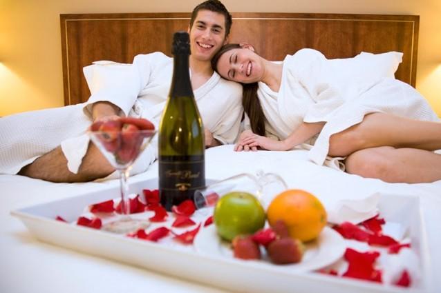 alberghi privati e romantici per coppie: gli hotel a una sola camera - Bagno Romantico San Valentino