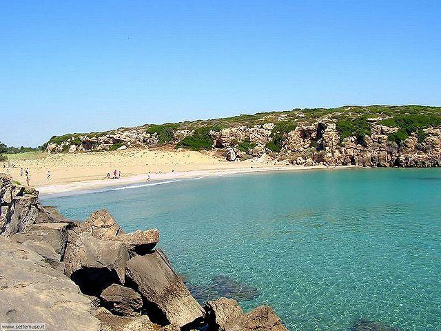 Spiaggia di Calamosche [Foto di Wikimedia Commons]