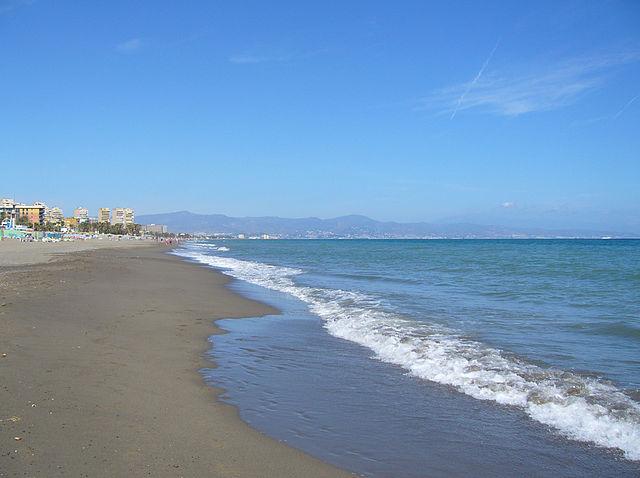 Spiaggia a Torremolinos (Foto di Tango22)