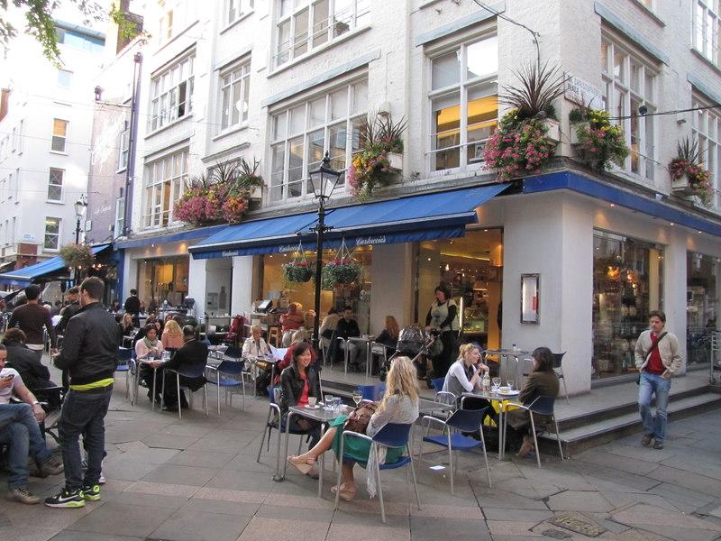 Dove mangiare italiano a londra for Londra dove soggiornare