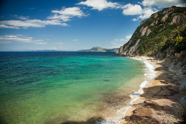 Spiaggia all'isola d'Elba [Foto di Melissa Toledo]
