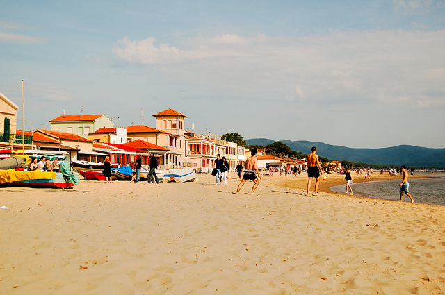 Spiaggia di Senzuno, Follonica