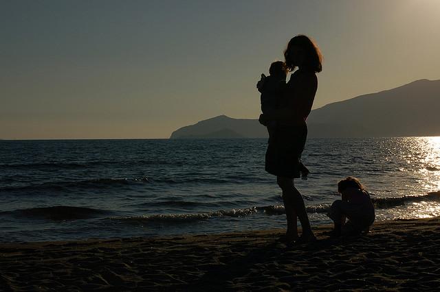 Spiaggia di Ansedonia. Foto di André Mouraux