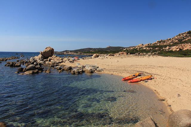 Spiaggia in Corsica – Foto di russ bars