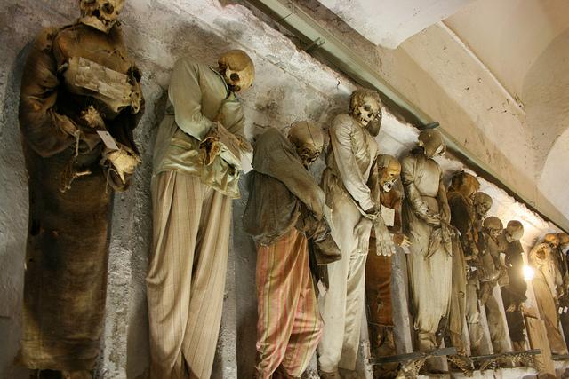 Catacombe Cappuccini, Palermo. Foto di Juan Antonio F. Segal