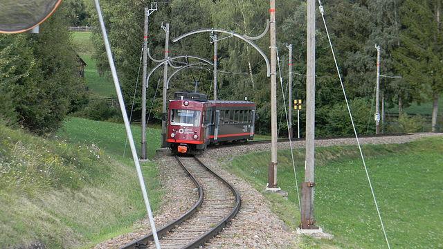 Ferrovia del Renon, Bolzano. Foto da Wikipedia