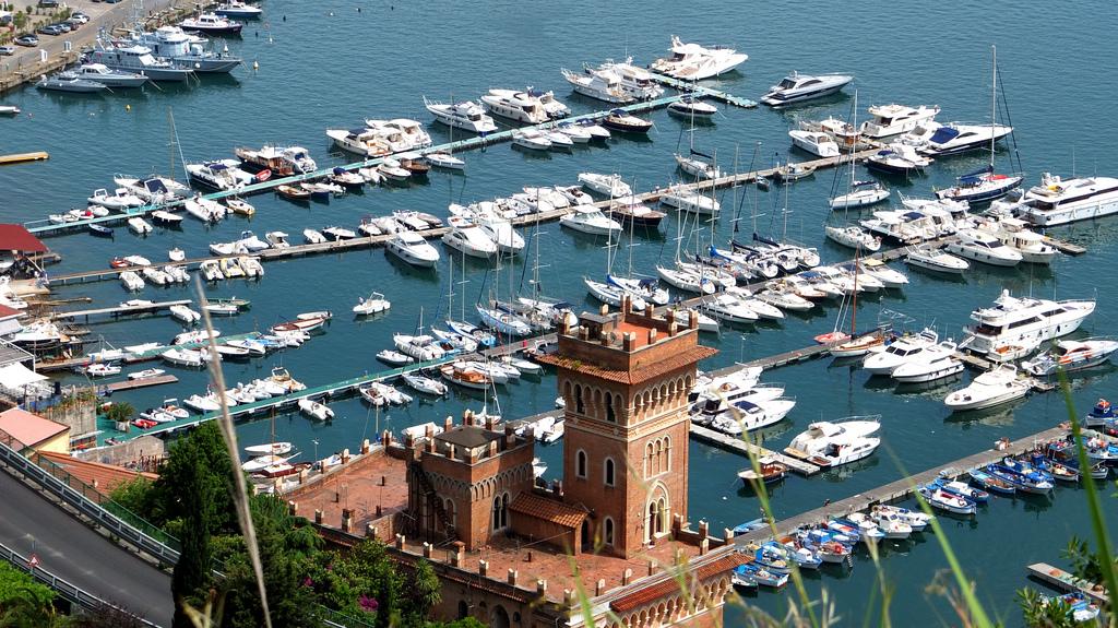 Porto di Salerno. Foto di Carlo Mirante