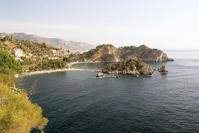 Baia di Isola Bella in Taormina