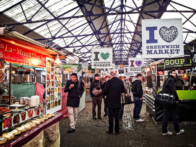 Greenwich Market. Foto di Garry Knight