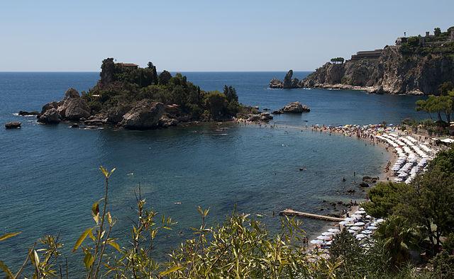 Isola Bella a Taormina, i lidi