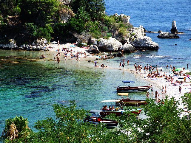 Isola bella a taormina come raggiungerla - La finestra sul mare taormina ...