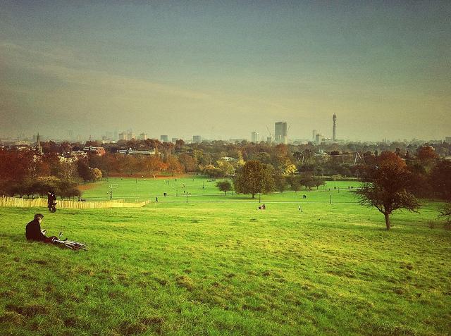 Londra vista dalla Primrose Hill. Foto di Mike Rolls