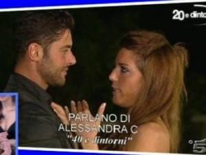 Marco Meloni e Ludovica Chieffo