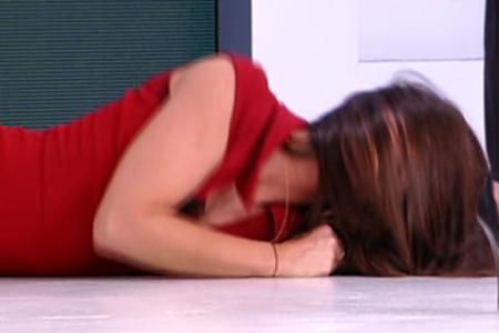 La Cabello sviene a Quelli che il calcio e arriva Claudio Lippi