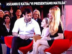 Katia e Ascanio, con Matilda protagonisti del nuovo reality della D Urso