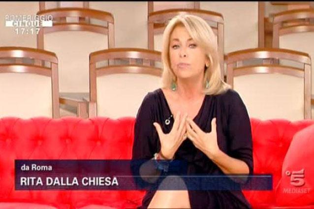 """Rita Dalla Chiesa: """"Mai più mischiare l'amicizia con il lavoro"""""""