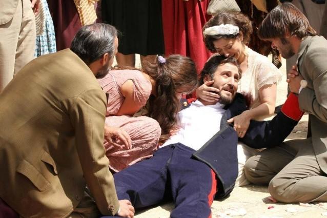 Il Segreto: la morte e i funerali di Tristan (FOTO)