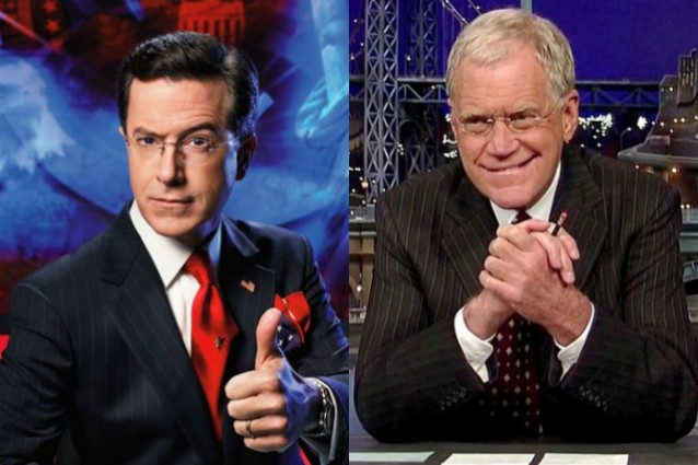 """Stephen Colbert successore di David Letterman, condurrà lui il """"Late Show"""""""