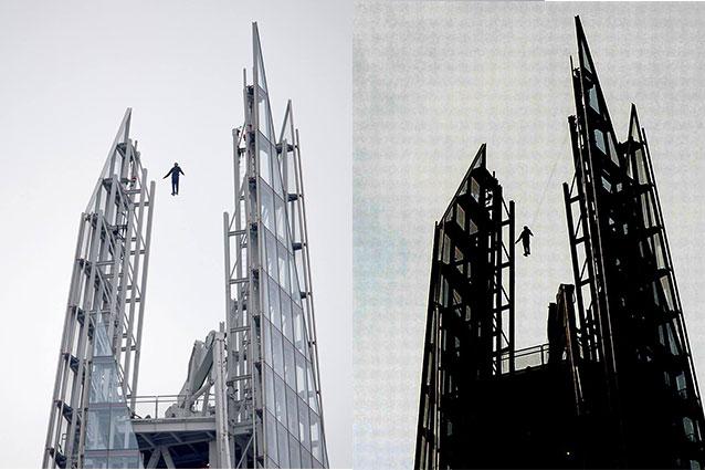 Dynamo levita su Londra, una foto mostra il trucco ma un video smentisce