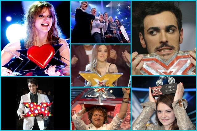 X Factor Story, tutti i vincitori del talent show più seguito