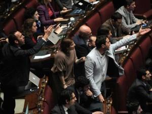 Italicum prima fiducia al governo renzi 352 s e 207 no for Camera dei deputati diretta