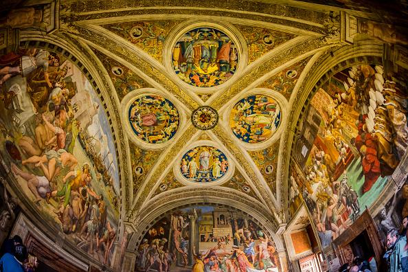Il giallo del raffaello di civitavecchia semplice copia o for Decorazione stanze vaticane