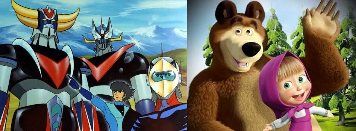 Da goldrake a masha e orso: la globalizzazione dei cartoni animati
