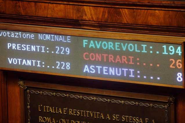 Corte costituzionale il parlamento prova di nuovo a for Votazioni parlamento