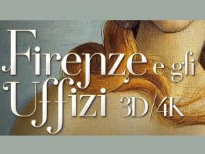 Firenze e gli Uffizi in 3D/4k da oggi al cinema