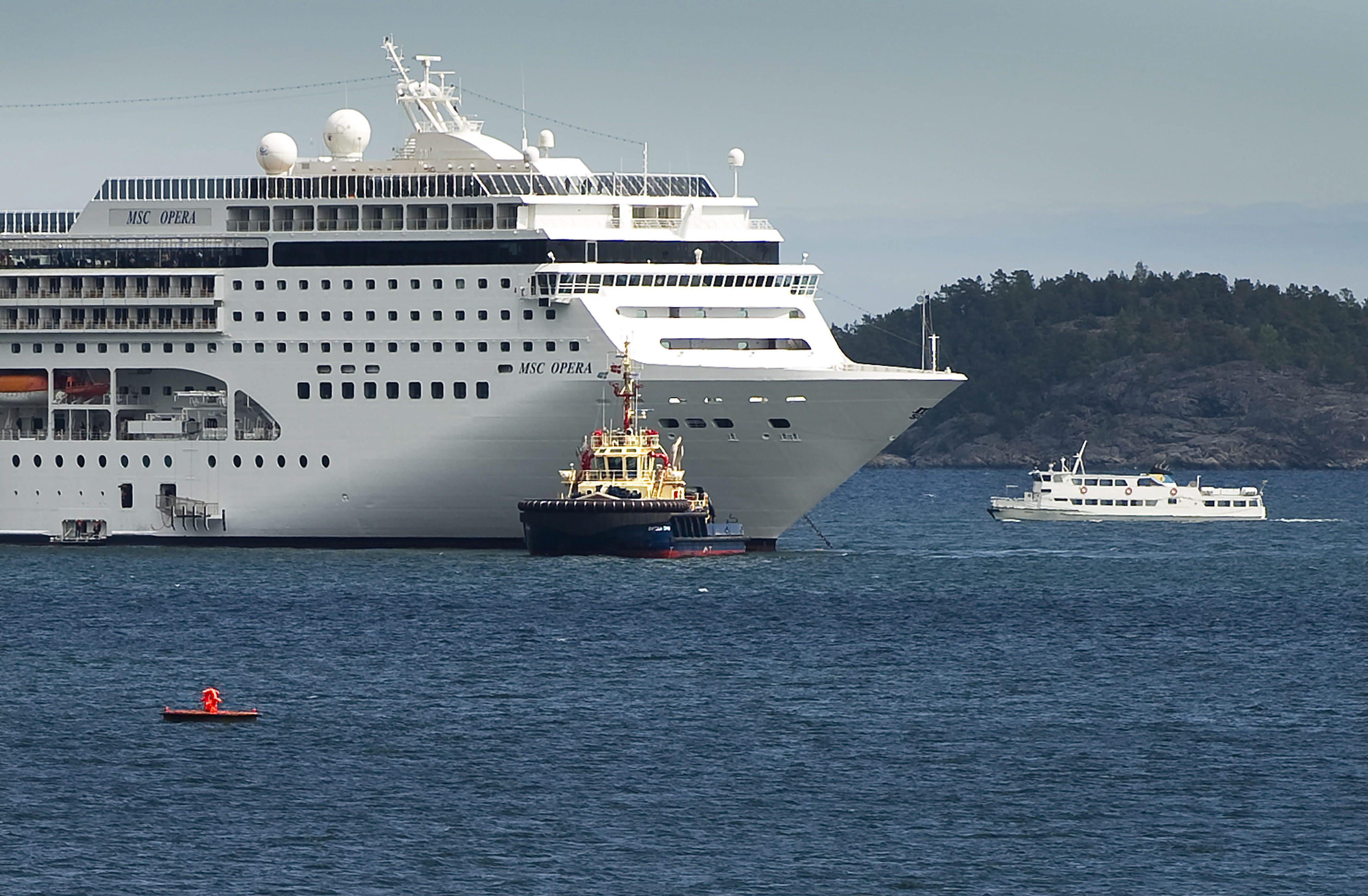 Genova giallo su una nave da crociera scomparsa una 75enne for Cabina interna su una nave da crociera