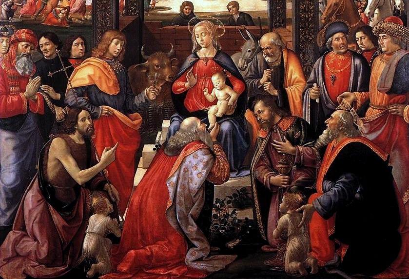 Adorazione dei Magi degli Innocenti (1485), Domenico Ghirlandaio