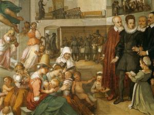 Bernardino Poccetti, Strage degli Innocenti con scene della vita dei neonati (1610), Spedale degli Innocenti