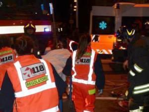 Esplosione in una macelleria a Reggio Calabria, feriti vigil