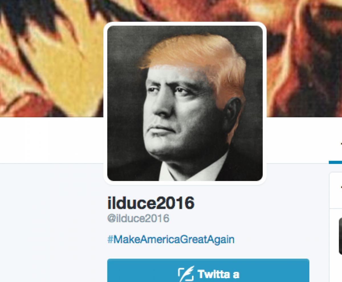 Trump Retwitta Una Frase Di Mussolini Poi Si Giustifica Mi