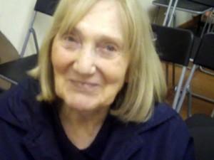 Un ritratto di Ida Magli sorridente