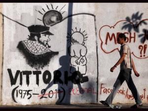 Cinque anni senza Vittorio Arrigoni. Sempre meno umani