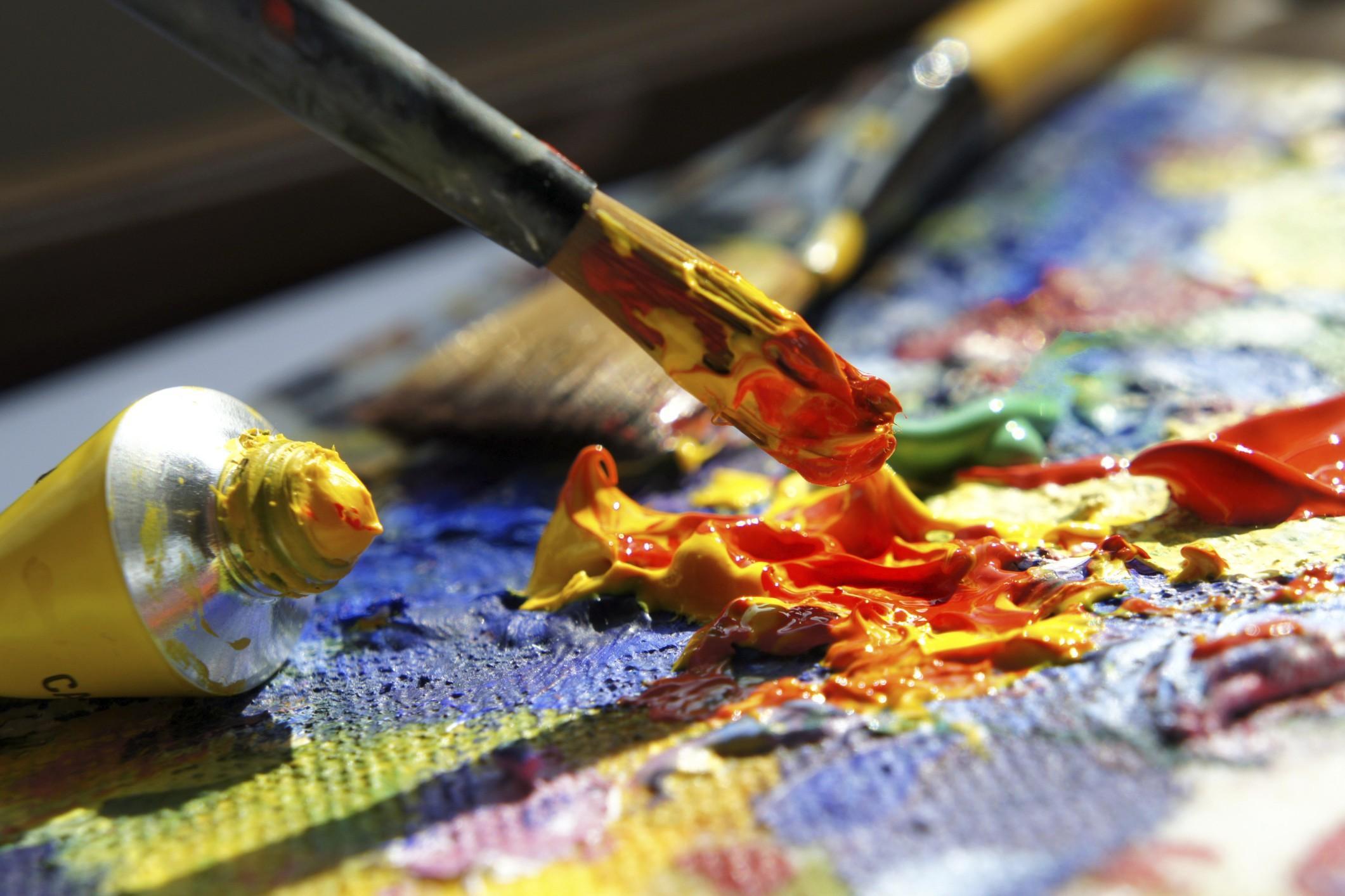 Dipingere fa bene all 39 anima cura ansia e attacchi di panico - Dipingere la facciata di casa ...